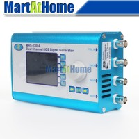 Free Shipping 2MHz Arbitrary Waveform Dual Channel DDS Function Signal Generator Sweep W 2 4 LCD