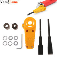 Electric Power Carving Chisel Wood Chisel Carving Tool Kit Changed 100 Angle Grinder DIY Carpenter Carpentry Woodworking Tools