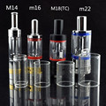 20pcs Replacement glass for E Cigarette Atomizer  M14 M16 M18 M22 Atomizer