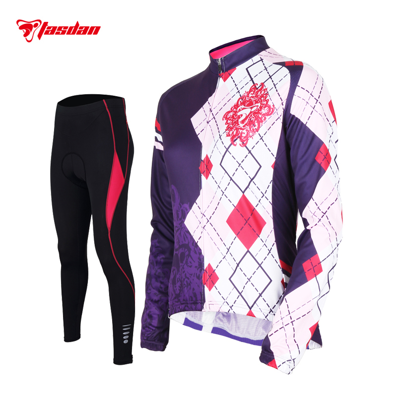 c457074eda2 Tasdan Women Cycling Jersey Sets Sports Wear Mountain Bike Gear Online  Cycling Bib and Jersey Set Clothing-in Cycling Sets from Sports    Entertainment on ...