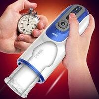 New Sex Machine Piston Retractable Male Masturbator Vibrator Automatic Blowjob Heating Voice Thrusting Massager Sex Toy for Men