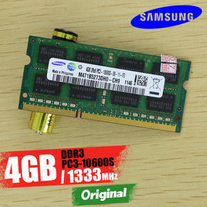 Samsung PC3 4G 4 GB DDR3 10600 S 1333 Mhz Laptop Memory 4G PC3-10600S ddr3 10600