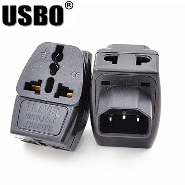 universal black copper 10a 250v standart iec320 c14 ups pdu apc rh aliexpress com Travel Electrical Adapters Travel Electrical Adapters