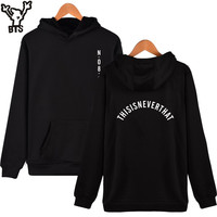 BTS Kpop Women Hoodies Sweatshirt Korean Hip Hop Bangtan Popular Hooded Sweatshirt Women Hoodies Casual Fans Female Funny Clothe