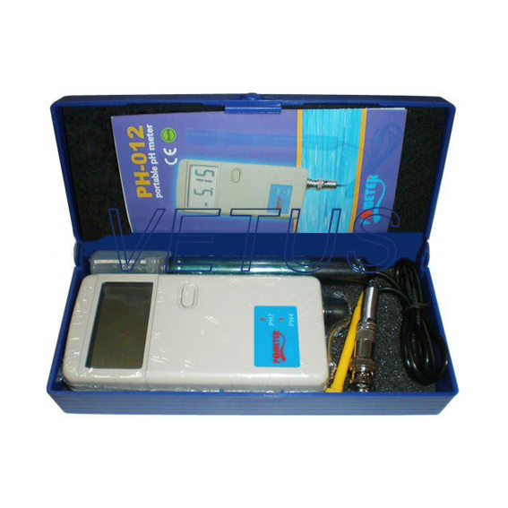 Portable pH meter Tester PH-012 Free shipping of EMS DHL Fedex lem htr200 sb sp1 used in good condition with free dhl ems