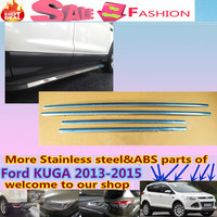 High Quality Car Styling Cover Stainless Steel Side Door Body Trim Frame Lamp Sticks Strips Molding