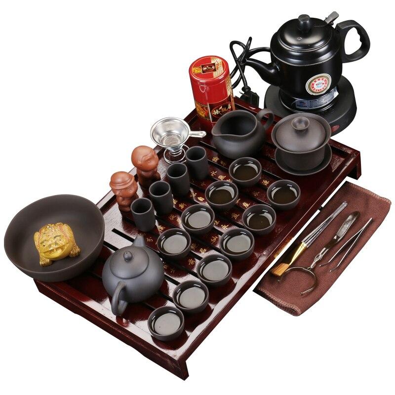 Kitchen Kettle Village Coupons: Zisha Tea Set Package Dr. Tea Kettle Teapot Trough Tea