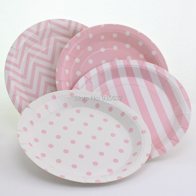 96pcs/lot Christmas Polka Dot Striped Chevron Theme Party Round Paper Plates Wedding Decor Cupcake & Aliexpress.com : Buy 96pcs/lot Christmas Polka Dot Striped Chevron ...