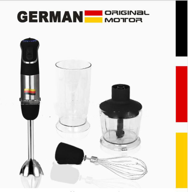 850W GERMAN Motor Technology Electric Hand Blender MQ735, Chopping ,Whip, Beat, Stir, Mixer, Smart Stick Food Processors