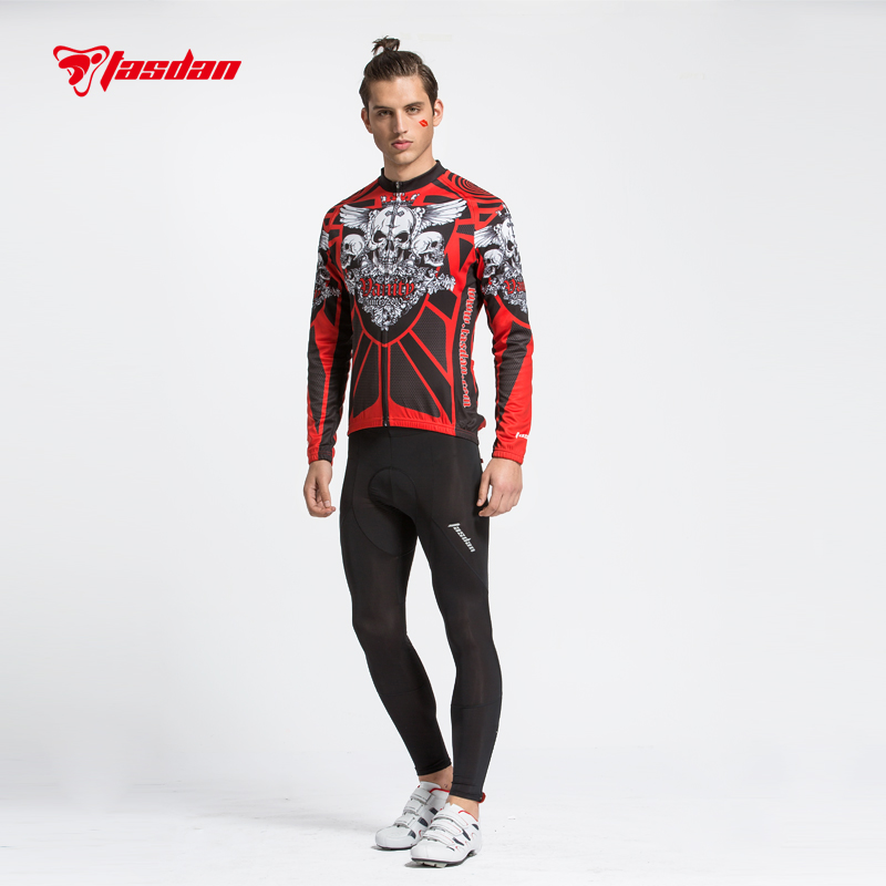 Tasdan Cycling Jersey Sets 3D Slim Cutting Long Sleeve Mens Cycling Suit and Tight Pants tasdan cycling jersey sets 3d slim cutting long sleeve mens cycling suit and tight pants