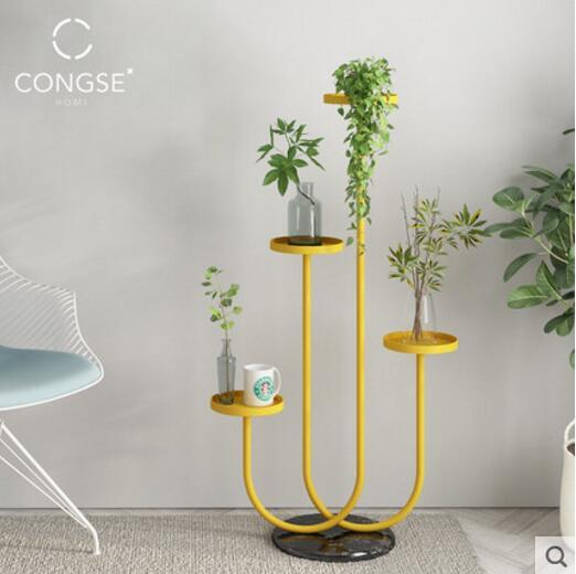 Скандинавский Tieyi цветок стенд многослойная подставка для размещения гостиной цветок подставка для горшка балкон мясистое растение стенд