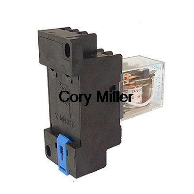 цена на HH53P AC12v/24v 220V Coil 5A Power Relay 11 Pin 3PDT 3 NO 3 NC w Socket
