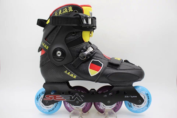 free shipping roller skates adults DIY assemble  seba frame PU wheel 85A