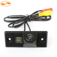 CCD Chip Car Rear View Backup Mirror Image Camera For Volkswagen VW CAYENNE TIGUAN TOUAREG POLO