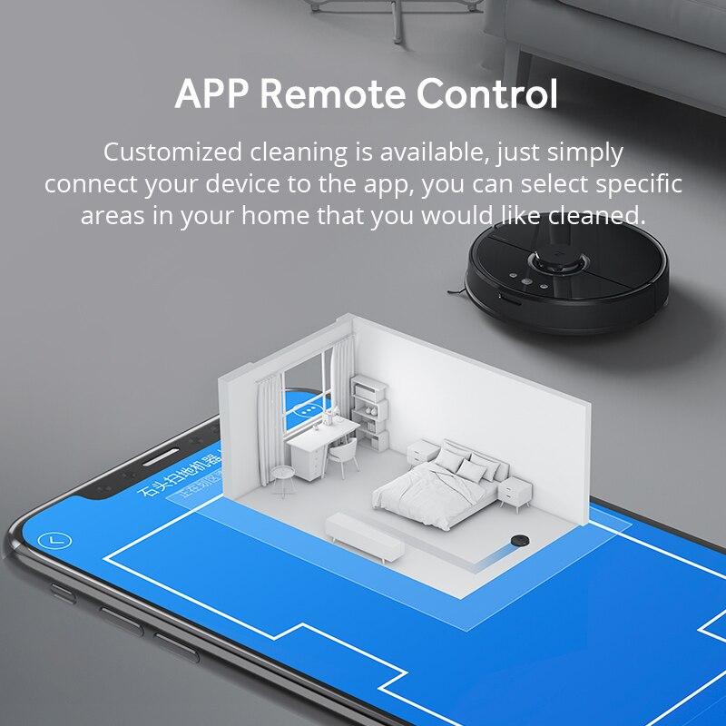 Roborock s50 robot aspirateur 2 mondial ce smart route prévue APP contrôle Sans Fil/sans fil pour La Maison balayage et mop cleaner - 5