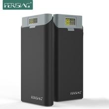 FERISING Yeni Serisi 20000 mah LED Ekran Güç Bankası Harici 18650 Lityum Pil için Ptc bankası Powerbank Şarj Tablet & telefon
