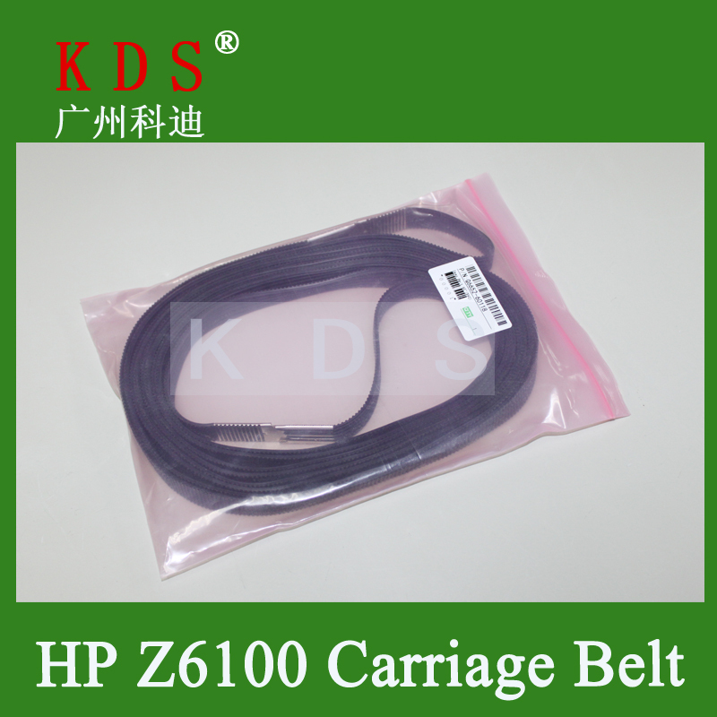 2pcs/lot Printer Laser Plotter Parts Carriage Belt  DesignJet Z6100 Z6200 T7100 4000 4500 4520, Q6652-60118 in black sr149 5 2015 pack