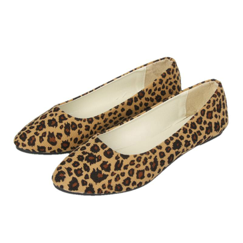 New Woman Flats Boat Shoes Women Color Leopard Ballet Flats Loafers Casual Shoes Female Spring and Autumn Fisherman Sandals 2018 new genuine leather flat shoes woman ballet flats loafers cowhide flexible spring casual shoes women flats women shoes k726