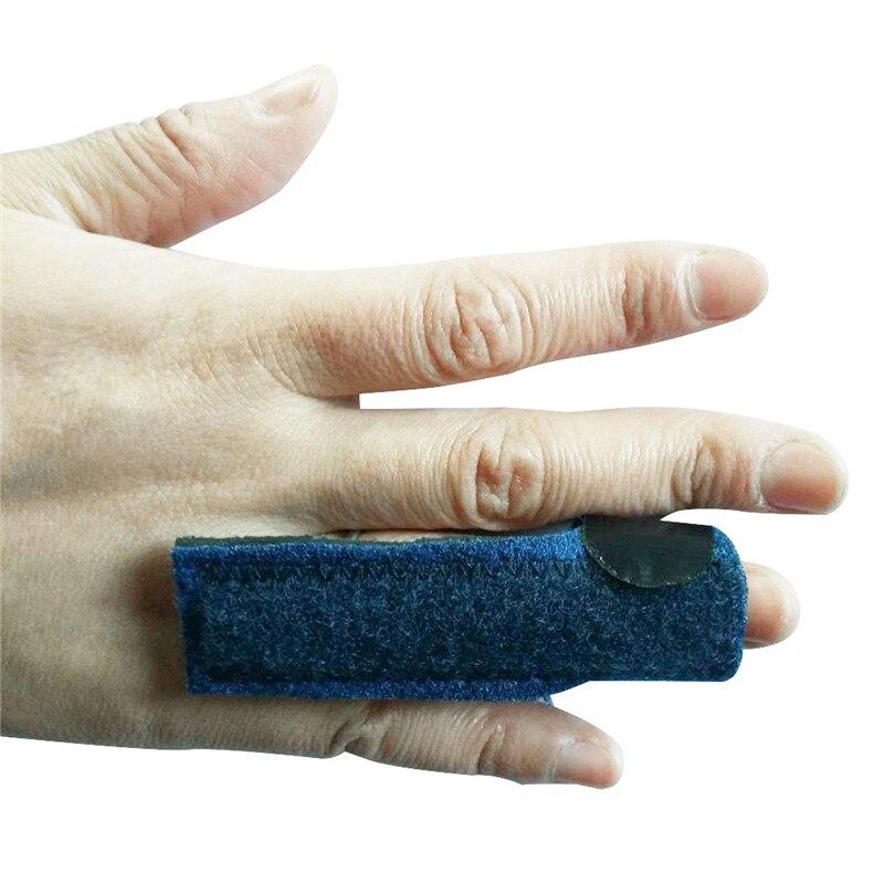 1PC Finger Brace Support Posture Corrector Aluminium Finger Hand Splint Recovery Injury Pain Bending Deformation Correction