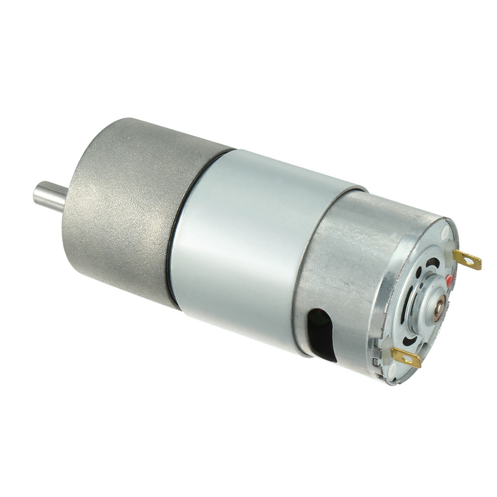 12V 0.5A 5RPM Electric Speed Reducing DC Gear Box Geared Motor