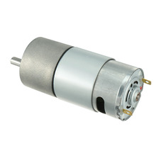 UXCELL(R) High Quality 1Pcs 6mm Diameter Shaft Electric Gear Box Speed Reduce Replacement Motor DC 12V 60RPM цены