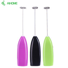 1PC Battery Hot Drinks Milk Frother Foamer Electric Whisk Mixer Stirrer Egg  Beater Kitchen DIY Tool