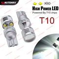 2pcs XB-D Chips 30w T10 Car 168 194 w5w 501 LED Bulb for Parking License Plate Clearance Position Turn Side DRL Lights Lamps