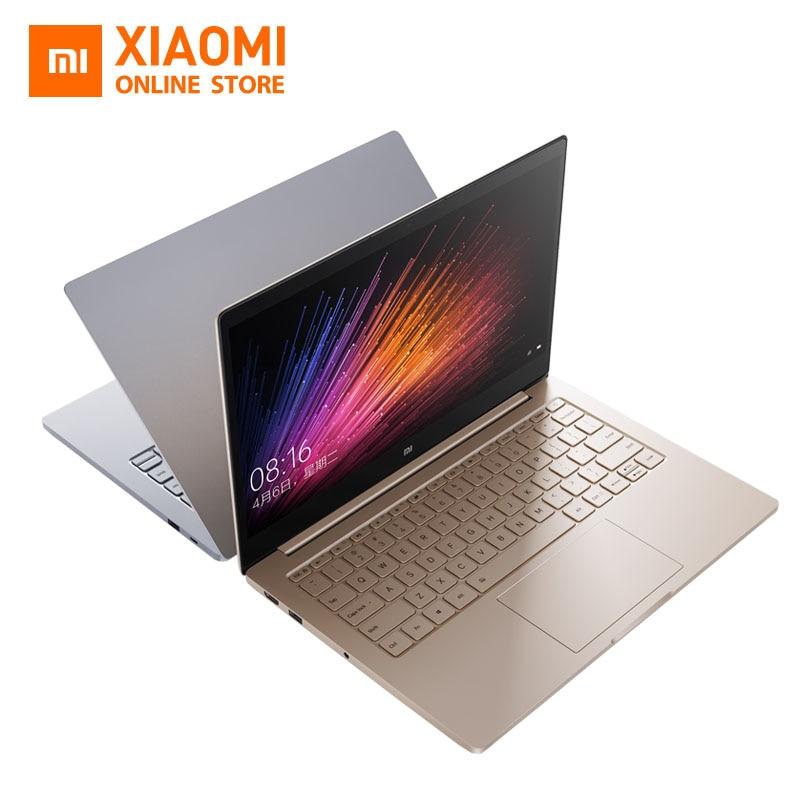 Оригинальный 13.3 дюймов Сяо Mi Тетрадь Air распознавания отпечатков пальцев Intel Core i5-7200u Процессор 8 ГБ 256 ГБ Intel Оконные рамы 10 ноутбука