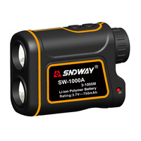 SNDWAY 600M 1000M 1500M Laser Rangefinder For Hunting Golf Sport Telescope Laser Distance Meter Measure Telescope