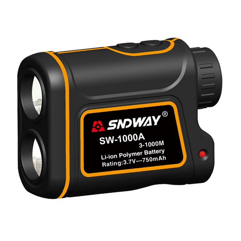SNDWAY 600M 1000M 1500M Laser Rangefinder for hunting golf sport telescope Laser Distance Meter measure telescope range finder 900m high accuracy range finder telescope rangefinder monocular for r golf hunting measure multifunctional laser distance meter