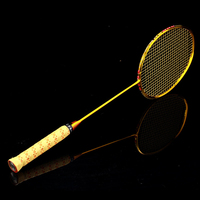 New Promotion Badminton Racket Raquete Full Carbon 4U Weight 82g 22LBS 32LBS G5 High Quality With