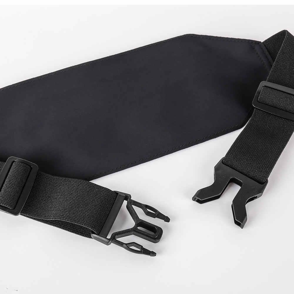 Haissky כפול רוכסן מותן תיק פאני חבילה גברים נשים אופנה כיס עמיד למים מתכוונן חגורת ריצה ספורט טלפון מקרה פאוץ