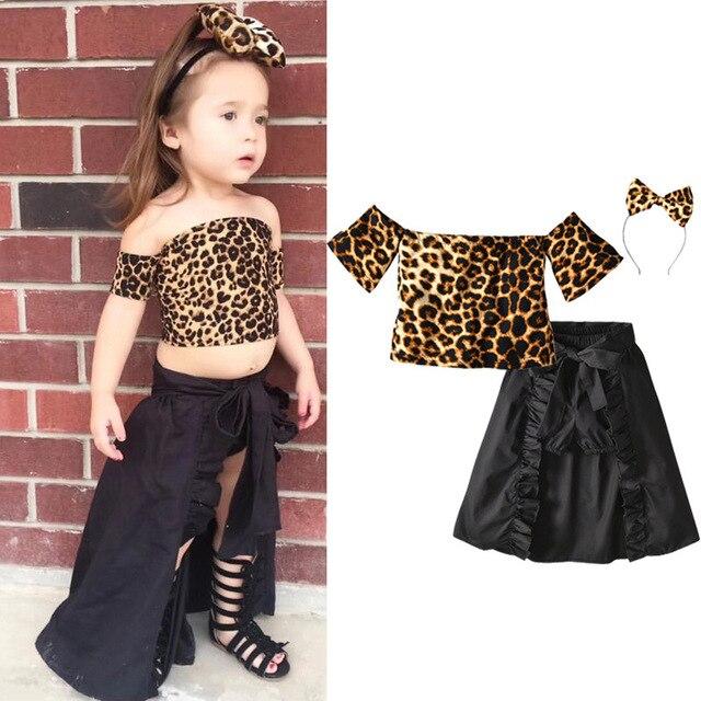 e8bf5c1795f8 Girls Dress Fashion Girls Clothes New Summer T-shirt+Shorts+Tuxedo Skirt+