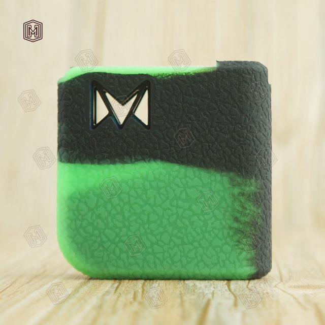 Microsmoke 10pcs silicone cas for Mi-Pod by Smoking Vapor Pod Vape System  thicker Wrap skin cover sticker rubber box mod shiled
