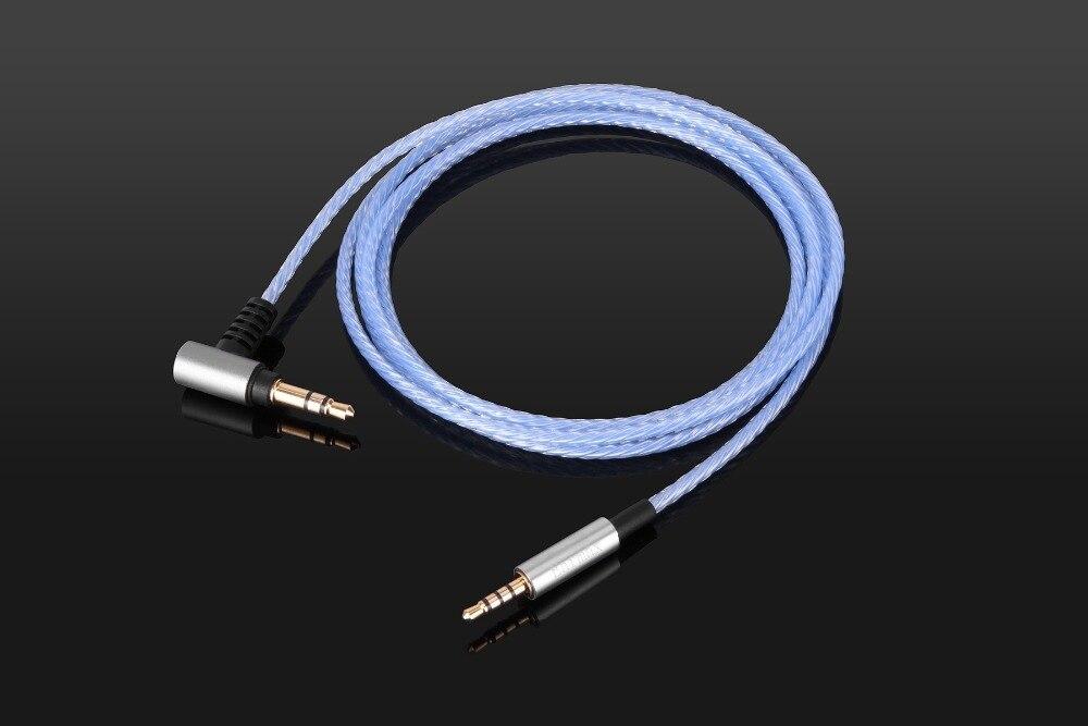 Audio Cable with mic For Sennheiser HD438 HD439 HD451 HD461G//i HD471i headphones