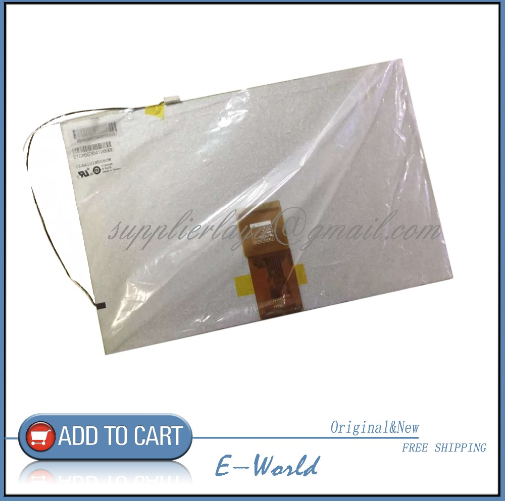 Original and New 10.1inch LCD screen CLAA101ND06CW CLAA101ND06 for Car DVD free shipping