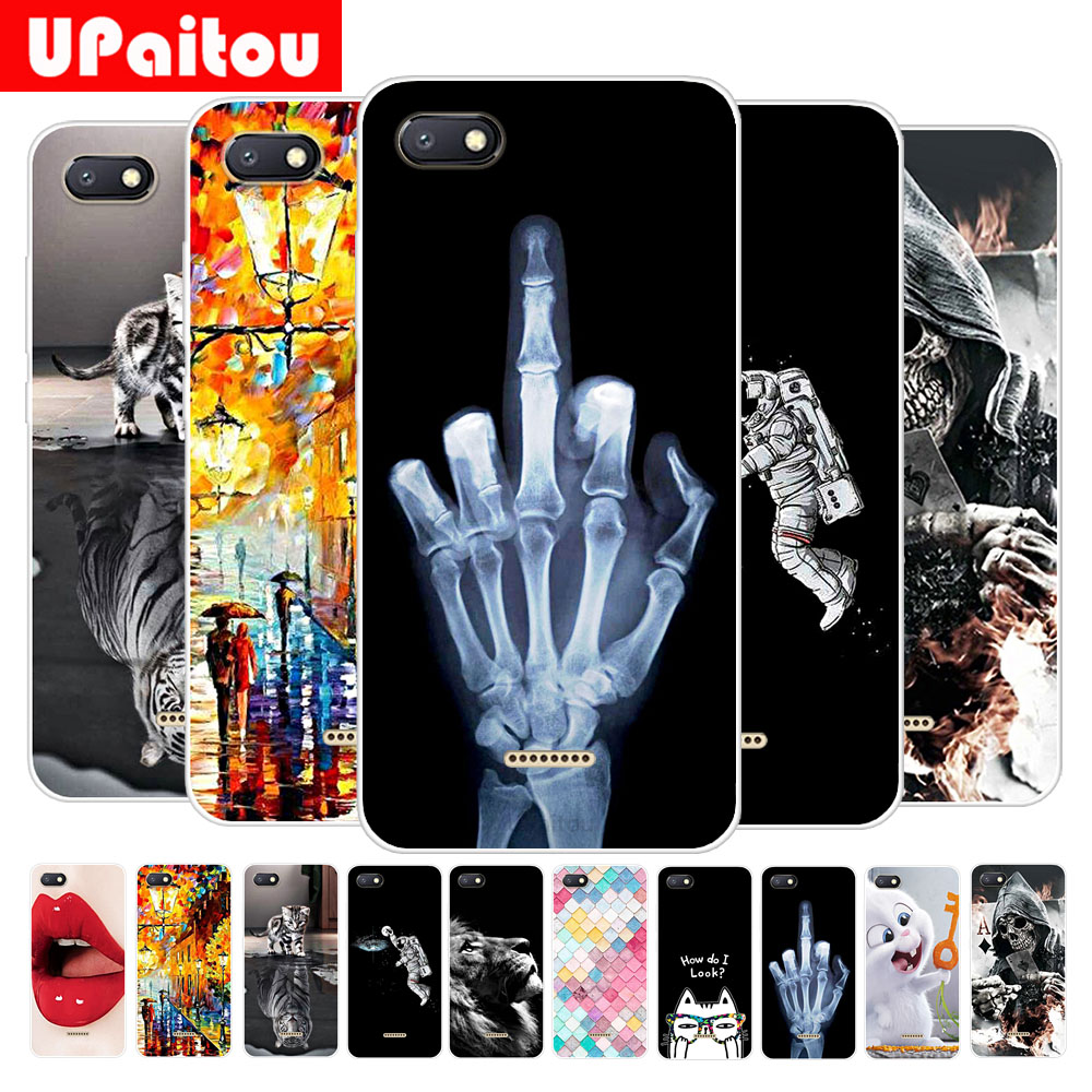 UPaitou Colorful Painting Case for Xiaomi Redmi Note 6 6A Pro Mi A2 Lite Case Soft TPU Ultra Thin Back Cover New Type Phone Case
