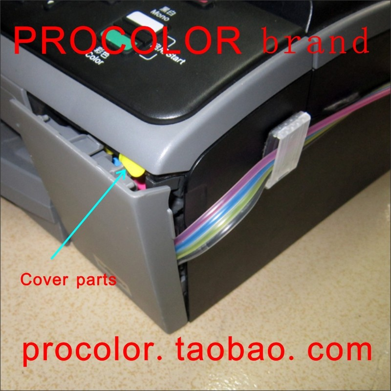 PROCOLOR Continuous Ink Supply System CISS (With cover parts) for BROTHER LC400LC450(DCP-J725DW,MFC-J430W,MFC-J625DW,MFC-J825DW