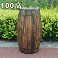 Oak 100cm high decorative wood wedding photography props grape cask wine cask barrel custom bar