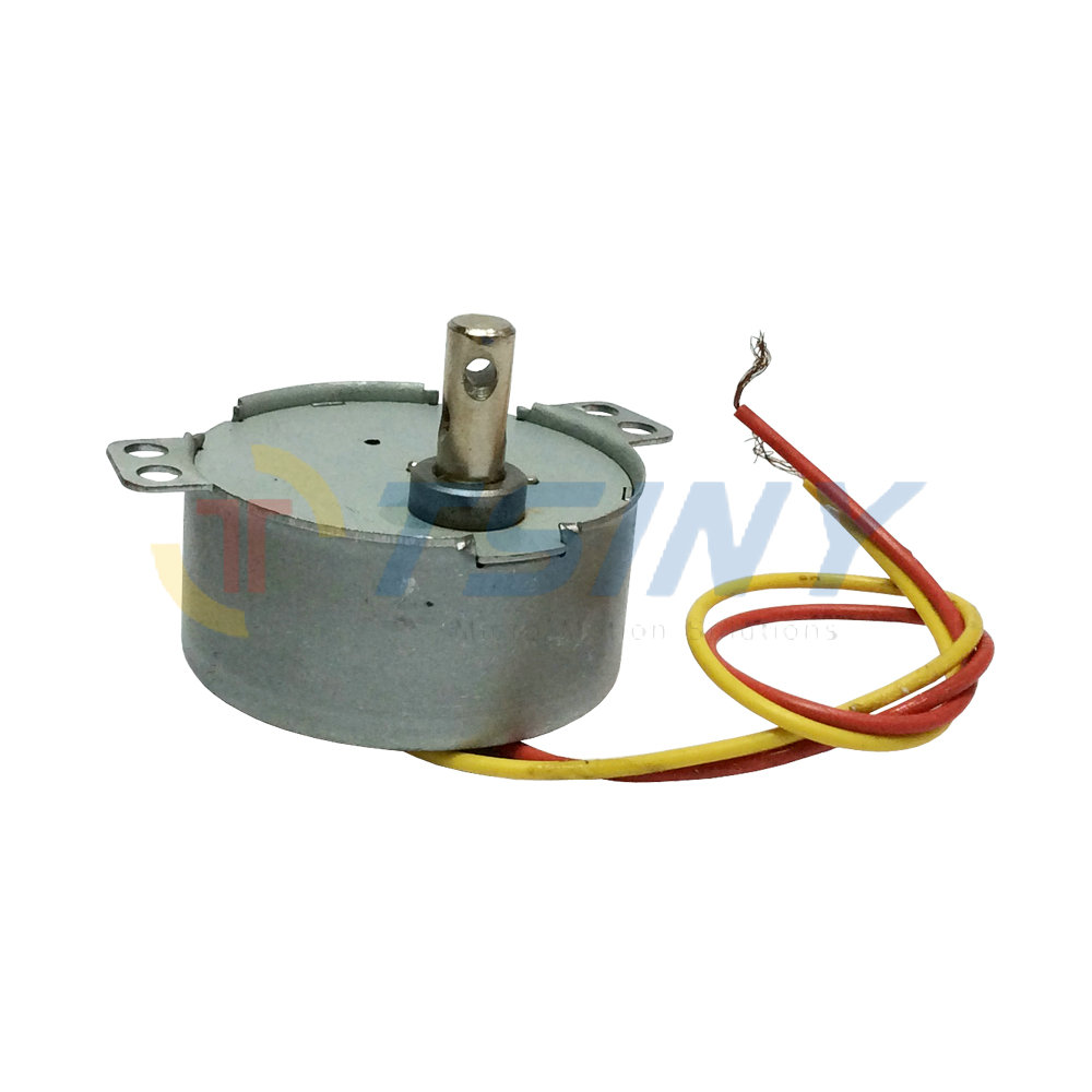 Ac 220v cw 8rpm min synchronous motor gear motor small ac for Small geared electric motors