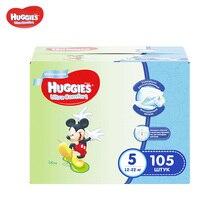 Подгузники Huggies для мальчиков Ultra Comfort 12-22 кг (размер 5) 105 шт