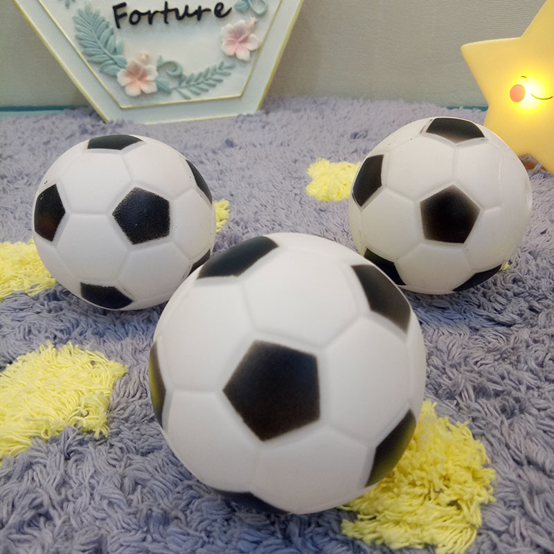 2.5 inches Pet Dog Rubber Football Ball Small Toys for Dog Chewing Toy Squeaker Toy Ball For Small Dog Training Product Supplies