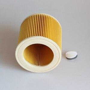 Image 4 - 3 pz aria filtri antipolvere per Karcher Aspirapolvere parti Cartuccia Filtro HEPA WD2250 WD3.200 MV2 MV3 WD3 karcher filtro