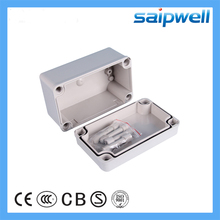 Saipwell ABS waterproof switch box IP66 junction box electric gray switch box 80*130*70mm DS-AG-0813