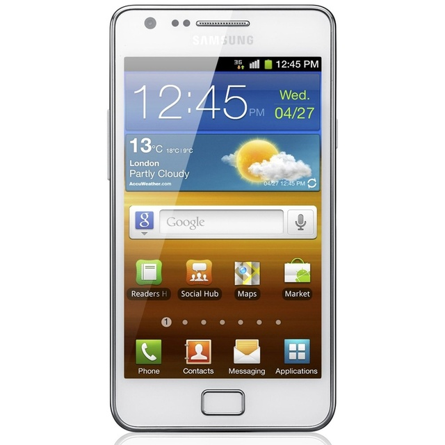 Samsung I9100 Galaxy S2 S Ii Android Gps Wifi 8mp Touch Screen Mobile Phone Free Shipping