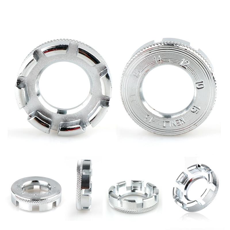 8 Way Bike Spoke Key Universal Wheel Rim Nipple Spanner//Wrench Tighten Push Tool