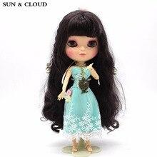 SOLEIL & CLOUD 3 Pcs / Set Robe en dentelle colorée pour 1/6 Blyth Flower Dress avec dentelle bandeau collier