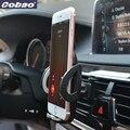 Cobao universal car air vent holder teléfono titular de montaje ajustable soporte del teléfono móvil soporte para iphone 5s 6 7 galaxy xiaomi