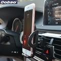 Cobao universal montar titular ajustável suporte do telefone de ventilação de ar do carro suporte do telefone móvel suporte para iphone 5s 6 7 galaxy xiaomi