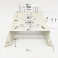 New Metal Outdoor Indoor External Corner Bracket Mounting For Heavy Camera OR CCTV PTZ IP Dome